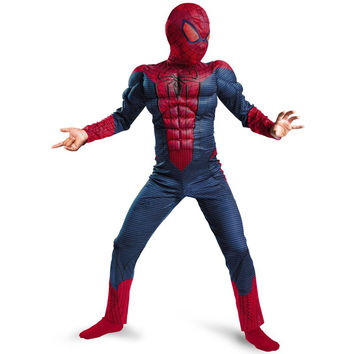 Spiderman Movie Classic Muscle Child halloween costume for kids i superheroes fancy dress