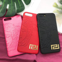 Versace iPhone7plus cortex cell phone shell iphone 78 drop hard shell super female models protective sleeve