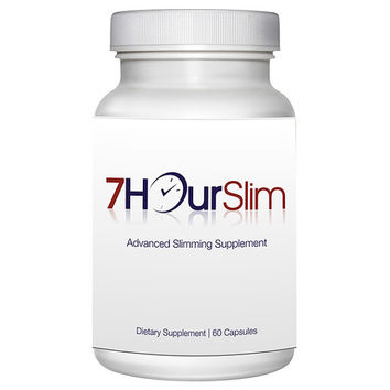 Totally Products 7 Hour Slim Weight Control and Weight Loss (60 Capsules) - burns fat and suppresses appetite