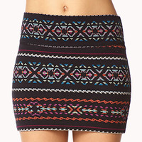 Southwestern-Inspired Mini Skirt
