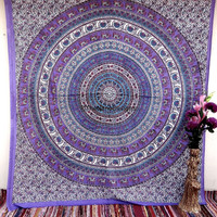 Elephant  Wall Tapestries, Tapestry Wall Hanging, Hippie Tapestry, Bohemian Tapestries, Dorm Decor, Indian Tapestry, Beach Sheet