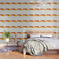 Yellow Meets Crimson Wallpaper by spaceandlines