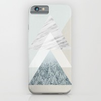 Snow into the forest iPhone & iPod Case by Cafelab