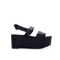 SATIN WEDGE - Woman - New this week - ZARA