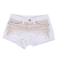 Blank NYC Embroidered Cut Off Short for Kids - Hock It