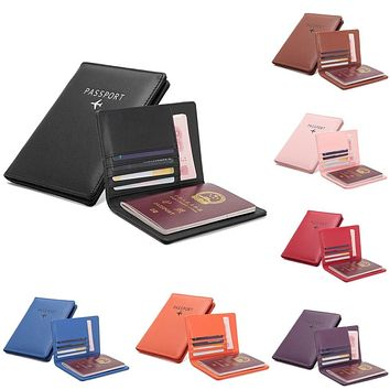Passport Cover PU leather