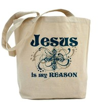 Jeus is my REASON Tote Bag