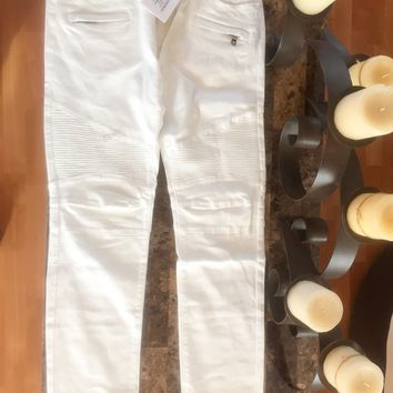 """Balmain Jeans 'Size 36""""s' (Arctic White Jeans, Must See!!)"""