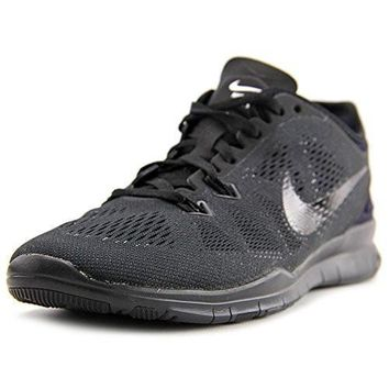 NIKE WOMENS FREE 5.0 TR FIT 5 BLACK/BLACK/BLACK TRAINING SHOE 6.5 WOMEN US