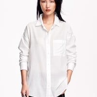 Old Navy Boyfriend Pocket Shirt
