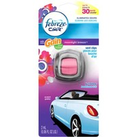 Febreze Car Vent Clip Moonlight Breeze with Gain Air Freshener, 0.06 oz - Walmart.com
