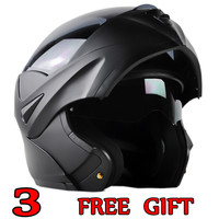 New Arrivals Best Sales Safe Flip Up Motorcycle Helmet With Inner Sun Visor Everybody Affordable SIZE M LXL XXLTransparent lens