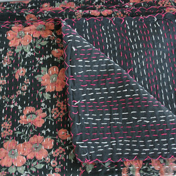 Queen Bed Cover or Throw Blanket