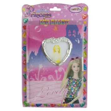 Princess Diary with Lock & Keys ( Case of 20 )