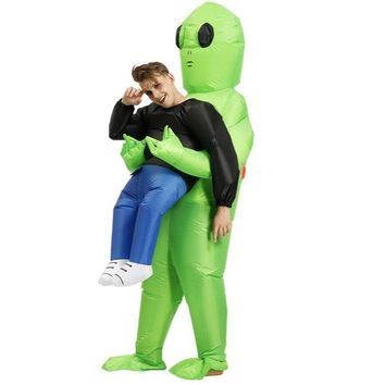 Pick Me Up E.T. Area 51 Inflatable Adult Alien Costume