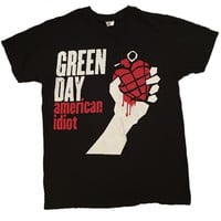 Green Day Band Tee (M)