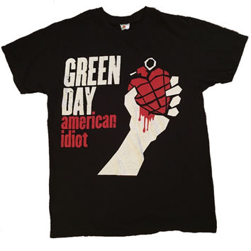 Green Day Band Tee