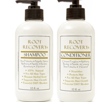 Organic Hair Regrowth Shampoo & Revitalizing Conditioner