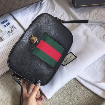 GUCCI Animalier Series Crossbody Shoulder Bag
