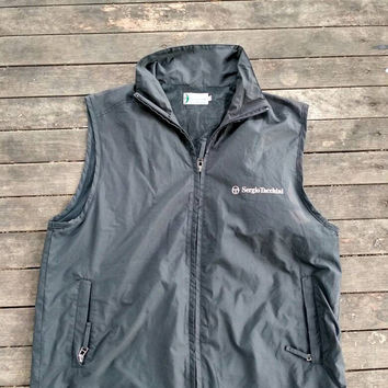 Sergio Tacchini vest styled in Italy vintage Sports wear