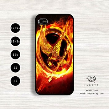 iPhone 5/5s, 5c, 4/4s & Samsung Galaxy S4, S3 Cases | The Hunger Games Movie / Mockingjay iPhone 5 Case