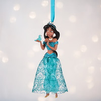 Disney Store 2016 Princess Jasmine Sketchbook Christmas Ornament New with Tags