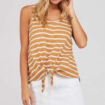 By the Beach Tank - Goldenrod