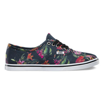 Black Bloom Authentic Lo Pro | Shop New Arrivals at Vans