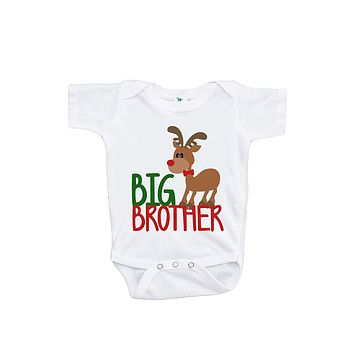 Custom Party Shop Baby's Big Brother Christmas Onepiece