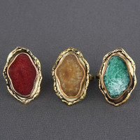 Zad Agate Ring - $13.00 : Fashion Rings at LuLus.com