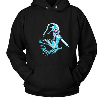 DCCKL83 Funny Star Wars Darth Vader Autotune Hoodie Two Sided