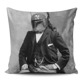 Boba Fett - Gentlemen Wars Pillow Covers