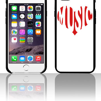 Love music 5 5s 6 6plus phone cases