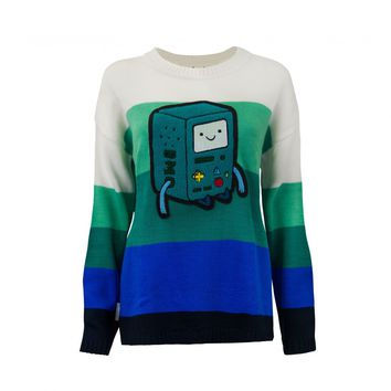 Welovefine:BMO Chenille Patch Knitted Sweater