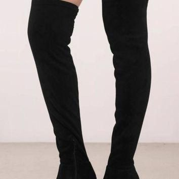 DCK7YE Chinese Laundry Krush Suede Thigh High Boots