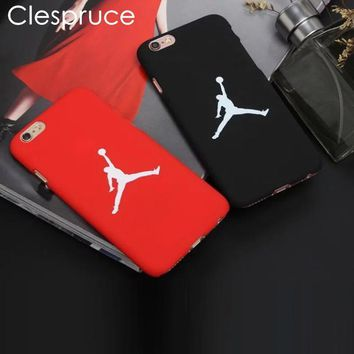 fashion flyman michael jordan pc case for apple iphone 8 6 6s 7 plus se 5 5s back mate cover carcasa capa fundas coque
