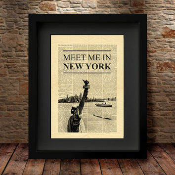 New york city Art Print, NYC, Wall Art, New York, Art Print, City print, Wall art, Home Decor,Travel, New york print, New york Poster- 32
