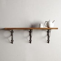 Wood Grain Shelf by Anthropologie Natural