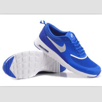 NIKE trend of fashion leisure sports shoes Blue and white