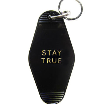Stay True Key Tag