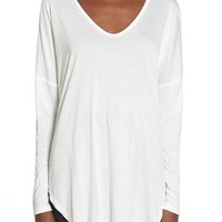 Lush Clothing High/Low Long Sleeve Tee | Nordstrom