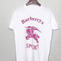 Burberry short sleeve sports top blouse T shirt