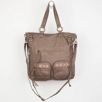 T-Shirt & Jeans Tribal Tab Tote Bag Taupe One Size For Women 24210341301