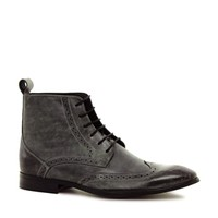 ASOS Brogue Boots in Leather