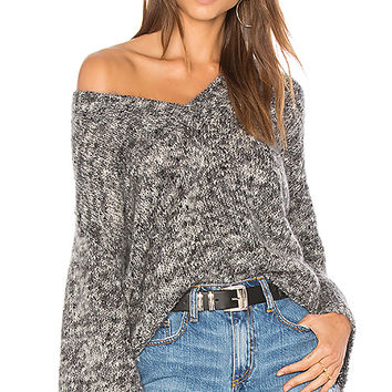 One Teaspoon Superior Fame Sweater in Silver Nights | REVOLVE
