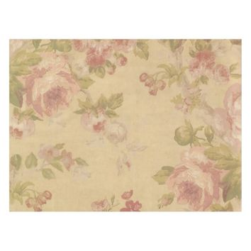 Rose Art Print Tablecloth