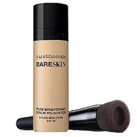 bareMinerals bareSkin Serum Foundation SPF 20 w/ Brush — QVC.com