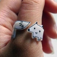 Wrap-Around Fox Ring