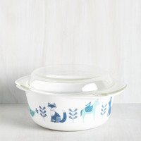 To Eats Their Own Baking Dish in Fauna - Large | Mod Retro Vintage Kitchen | ModCloth.com