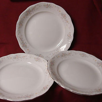 Haviland Johann, China Dinnerware, Floral Splendor Bavaria 3 luncheon plate